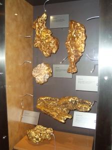 Pepitas de oro gigantes