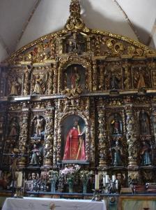 Altar de la Iglesia de San Andrés de Teixidor